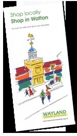 Shop in Watton - Leaflet Front